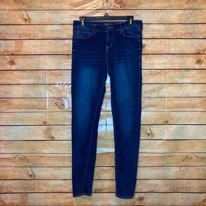 Dear John Gisele High Waisted Skinny Dark Jeans 27
